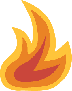 Illustrated Flame