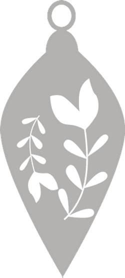 Nordic Leaf Ornament