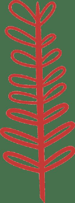 Nordic Leafy Branch