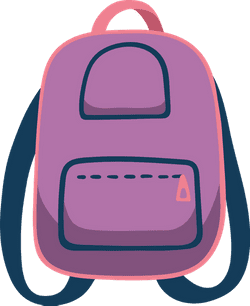 Drawn Book Bag