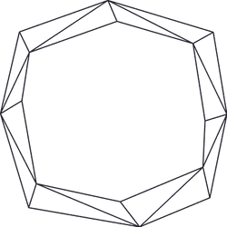 Chipped Line Frame