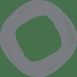 Moire Sketchy Circle