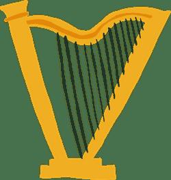 Standing Harp