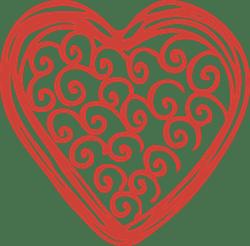 Doodled Heart