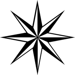 Large Compass Rose