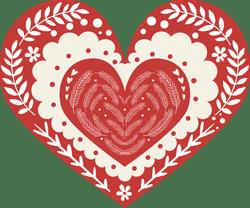 Nordic Triple Heart