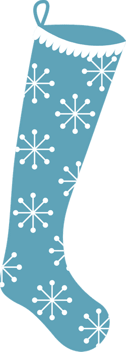 Snowflake Stocking