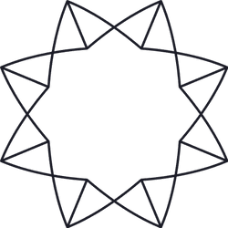 Eight Pointed Glyph