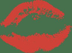 Thin Lip Print