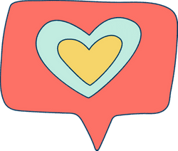 Double Heart Message