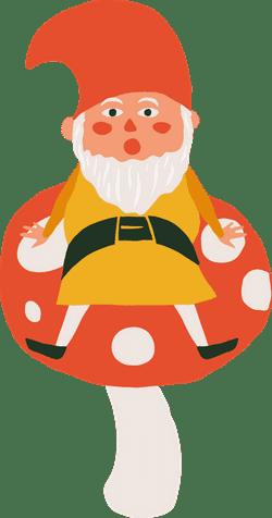 Mushroom & Leprechaun