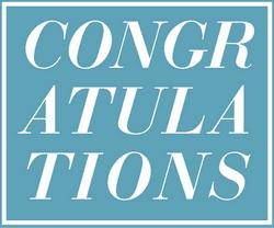 Congratulations Block