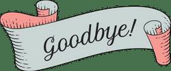 Goodbye Banner