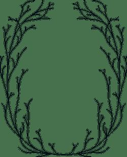 Drawn Bramble Frame