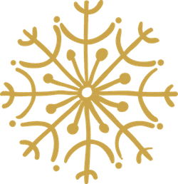 U-Shaped Snowflake