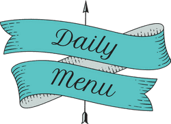 Daily Menu Banner
