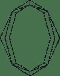 Ovoid Line Frame