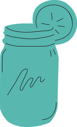 Mason Jar Iced Tea