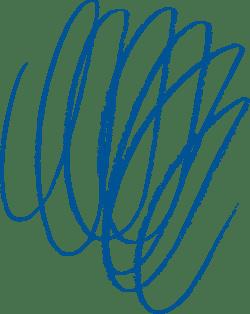 Downward Scribble