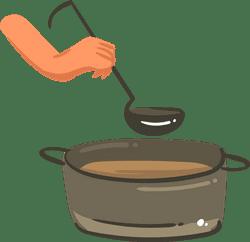 Ladling Soup
